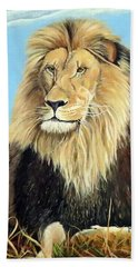 Lions Pride Beach Towel