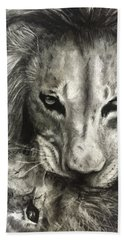 Lion's World Beach Towel