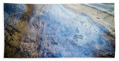 Liquid Oil On Water With Marble Wash Effects Beach Sheet