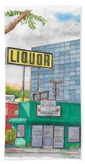 Liquor For Lease In Burbank, California Beach Sheet