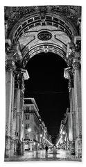 Lisbon - Portugal - Triumphal Arch - Rua Augusta Beach Sheet