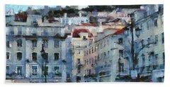 Lisbon Street Beach Towel