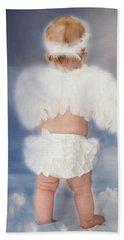 Beach Sheet featuring the photograph Little Angel by Linda Segerson