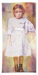 Little Anna Beach Towel by Tara Moorman