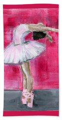Little Ballerina #2 Beach Towel