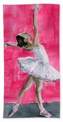 Little Ballerina Beach Sheet