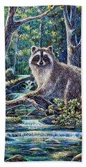 Little Bandit Beach Towel by Gail Butler