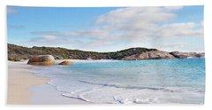 Beach Towel featuring the photograph Little Beach, Australia by Ivy Ho