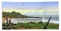 Beach Sheet featuring the photograph Little Beach by DJ Florek