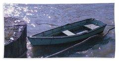 Little Blue Boat Beach Sheet