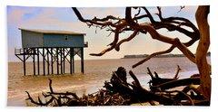 Little Blue Hunting Island State Park Beaufort Sc Beach Sheet