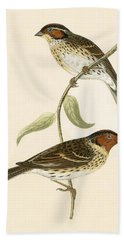 Little Bunting Beach Towel