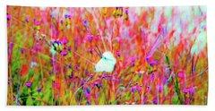 Little Butterfly Fly Beach Towel