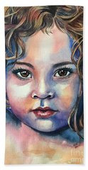 Little Cherub Beach Towel