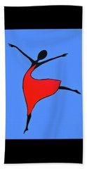 Little Dancer Beach Towel