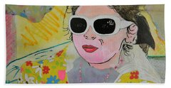 Little Diva  Beach Towel