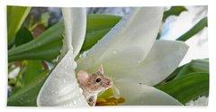 Little Field Mouse Beach Towel