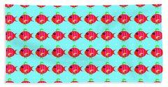 Little Fish Pattern Beach Sheet