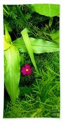 Little Flower Beach Towel
