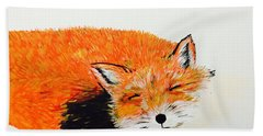 Little Fox Beach Towel