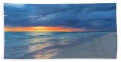 Little Hickory Beach Beach Towel
