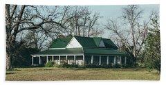 Beach Sheet featuring the photograph Little House On The Prairie by Kim Hojnacki