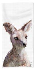 Little Kangaroo Beach Towel