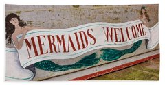 Little Mermaids Beach Sheet