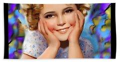 Little Miss Shirley Beach Sheet
