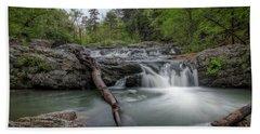 Little Missouri Falls 3 Beach Towel