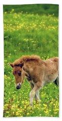 Beach Sheet featuring the photograph Little One by Joan Davis