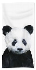 Little Panda Beach Towel