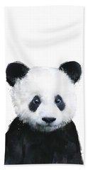 Little Panda Beach Towel