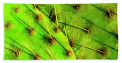 Beach Sheet featuring the photograph Prickly Pear by Paul Wear