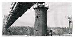 Little Red Lighthouse, 1961 Beach Towel
