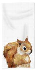 Little Squirrel Beach Towel