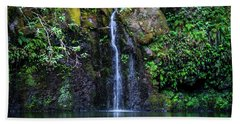 Little Waterfall Beach Towel