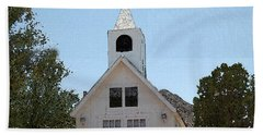 Little White Church Beach Towel