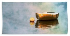 Little Yellow Boat Beach Towel