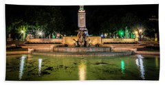 Beach Towel featuring the photograph Littlefield Gateway by David Morefield