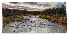 Littlefork River Beach Towel