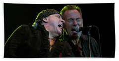 Beach Towel featuring the photograph Live At The Paramount by Jeff Ross