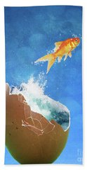 Live Your Dreams Beach Towel by Juli Scalzi