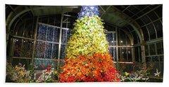 Living Color Christmas Tree Beach Sheet