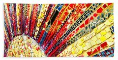 Living Edgewater Mosaic Beach Towel