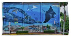 Living Reef Mural Beach Sheet