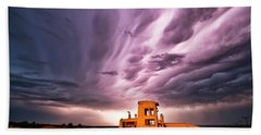 Living Sky In Nebraska Beach Sheet