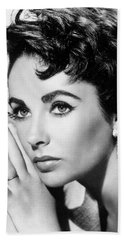 Liz Taylor Beach Towel
