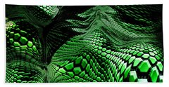 Dragon Skin Beach Towel