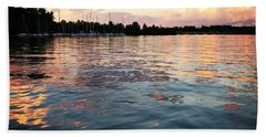 Lkn Water And Sky II Beach Towel